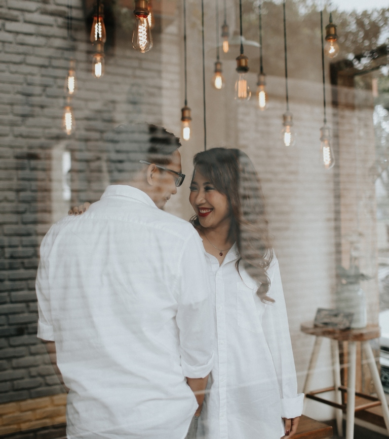 foto prewedding kasual
