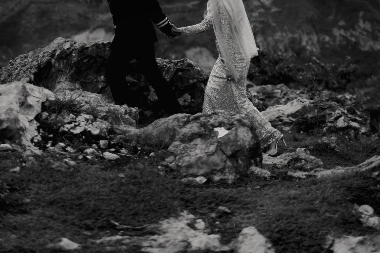 foto-foto prewedding di gunung batu