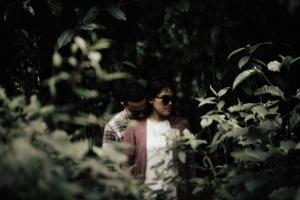 prewed di hutan pinus sentul